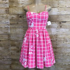 NWT AMANDA UPRICHARD | Hibiscus Print Dress P